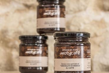 """Crema spalmabile di """"Cioccolato di Modica"""" al Caffé"""