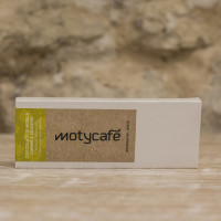 Modica chocolate with lime and ginger