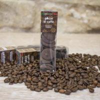 Gocce cioccolato e caffè