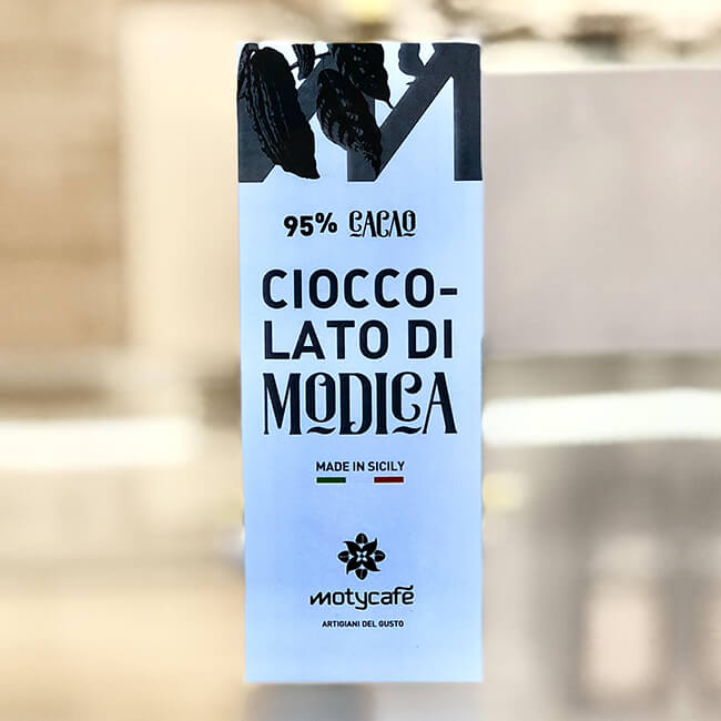 Cioccolato di Modica al 95%