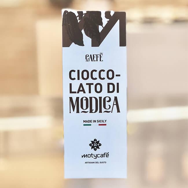Cioccolato di Modica al Caffé