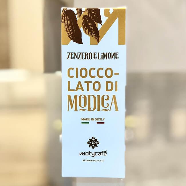 Cioccolato di Modica allo Zenzero e Limone